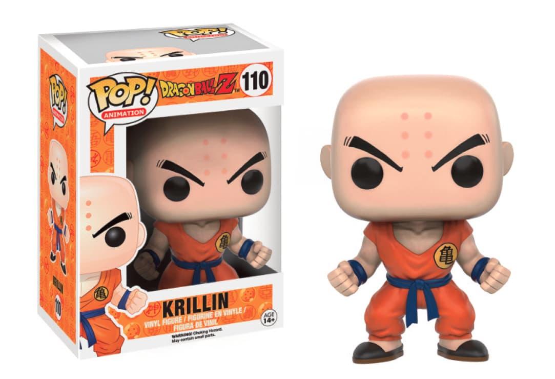 KRILLIN FIG 10 CM VINYL POP DRAGONBALL Z