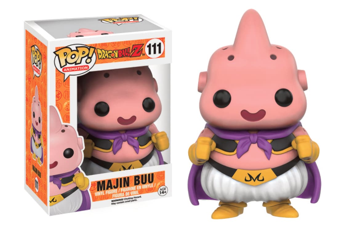 MAJIN BUU FIG 10 CM VINYL POP DRAGONBALL Z