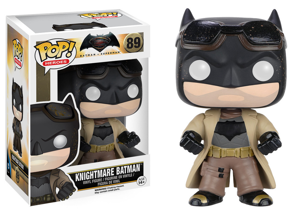 NIGHTMARE BATMAN FIG.10 CM VINYL POP HEROES BATMAN VS SUPERMAN UNIVERSO DC