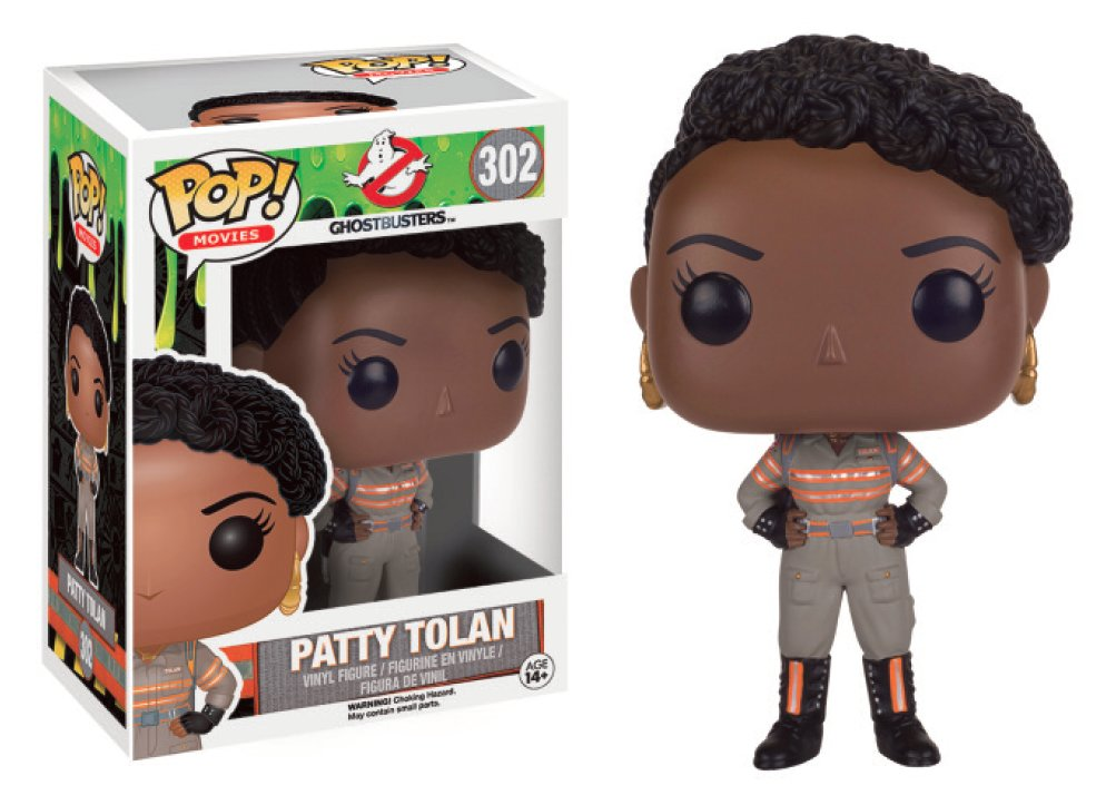 PATTY TOLAN FIGURA 10 CM VINYL POP GHOSTBUSTERS