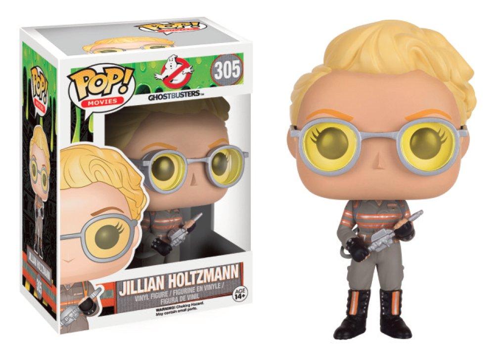 JILLIAN HOLTZMANN FIGURA 10 CM VINYL POP GHOSTBUSTERS