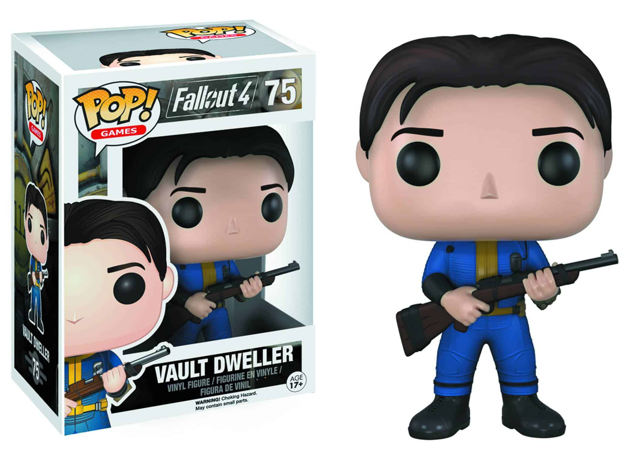 SOLE SURVIVOR VAULT DWELLER FIG.10 CM VINYL POP FALLOUT 4