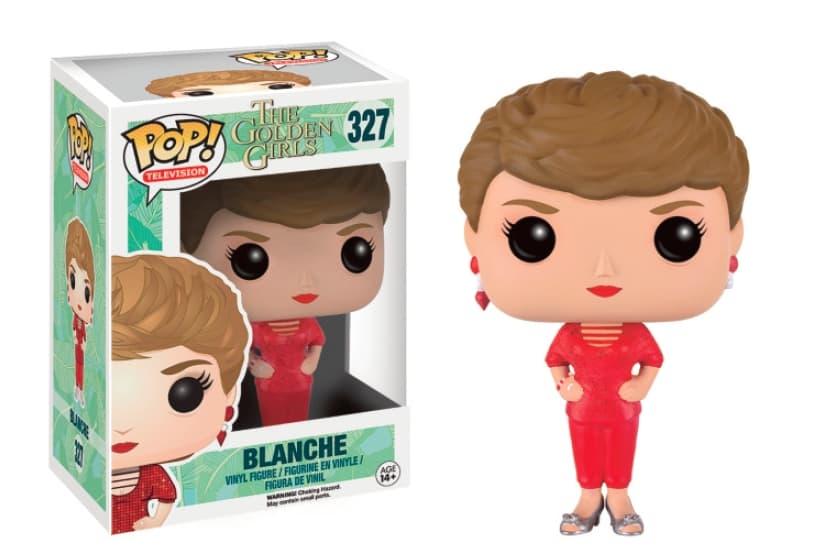 BLANCHE FIGURA 10 CM VINYL POP TELEVISION THE GOLDEN GIRLS