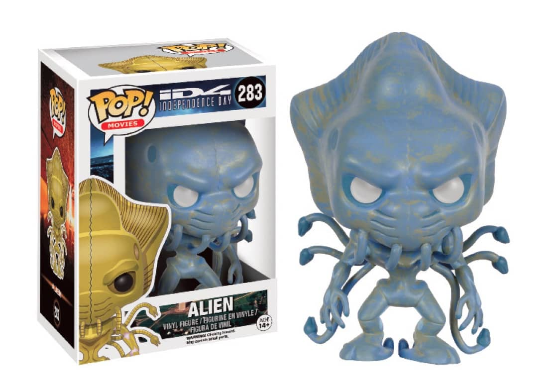 ALIEN OJOS BLANCOS LTD FIGURA 10 CM VINYL POP MOVIES INDEPENDENCE DAY