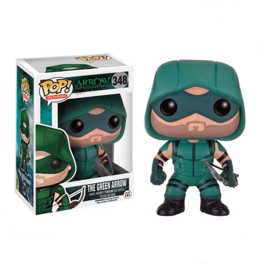ARROW VERDE FIGURA 10 CM VINYL POP TELEVISION ARROW