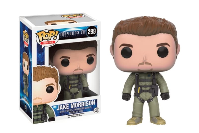 JAKE MORRISON FIGURA 10 CM VINYL POP MOVIES INDEPENDENCE DAY RESURGENCE