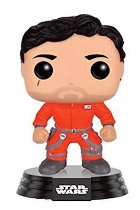 POE DAMERON CON MONO FIGURA 10 CM VINYL POP STAR WARS THE FORCE AWAKENS