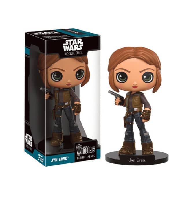 JYN ERSO FIG.15 CM WOBBLERS STAR WARS ROGUE ONE