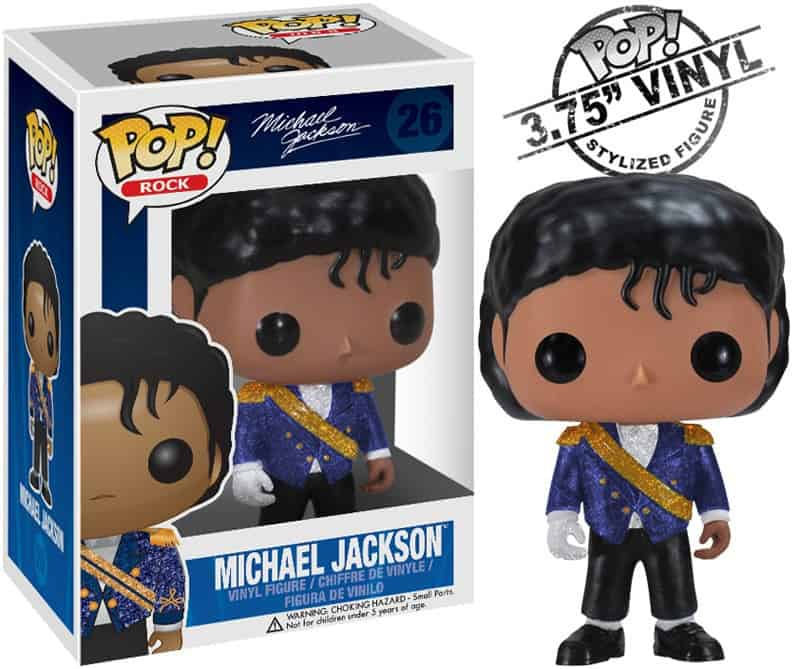 MICHAEL JACKSON GRAMMY (MILITARY) FIGURA 10 CM VINYL POP ROCKS