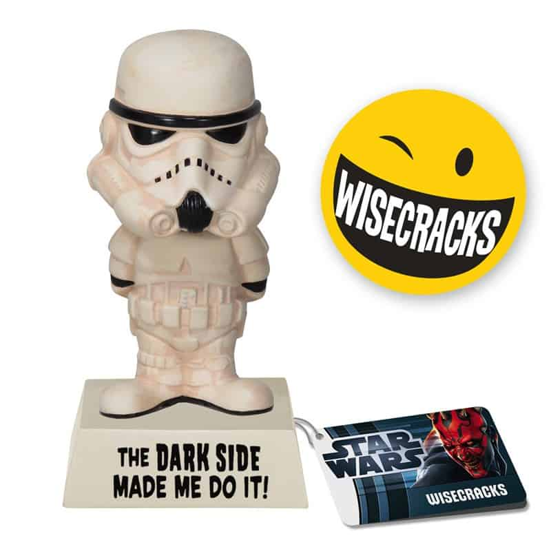 STORMTROOPER CABEZON SARCASMO 15 CM WISECRACKS STAR WARS