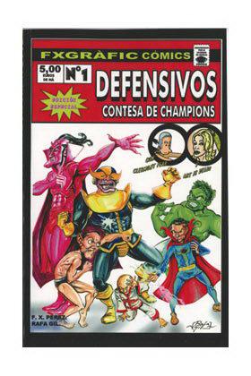 LOS DEFENSIVOS 01 (TOMO) + ART IS DEAD + LAS ILUSIONES DE CLERMONT