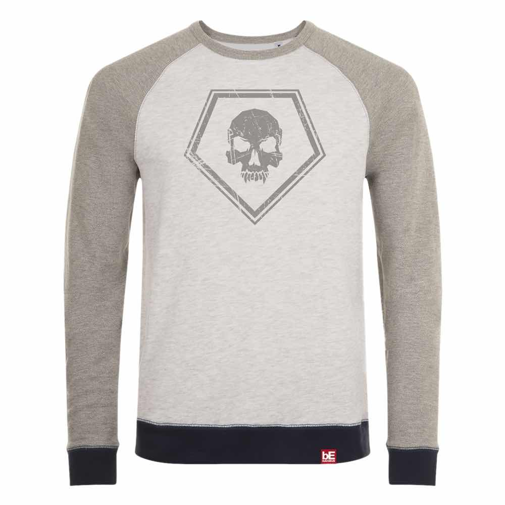 ICONO KILLER SUDADERA GRIS T-M DEAD BY DAYLIGHT