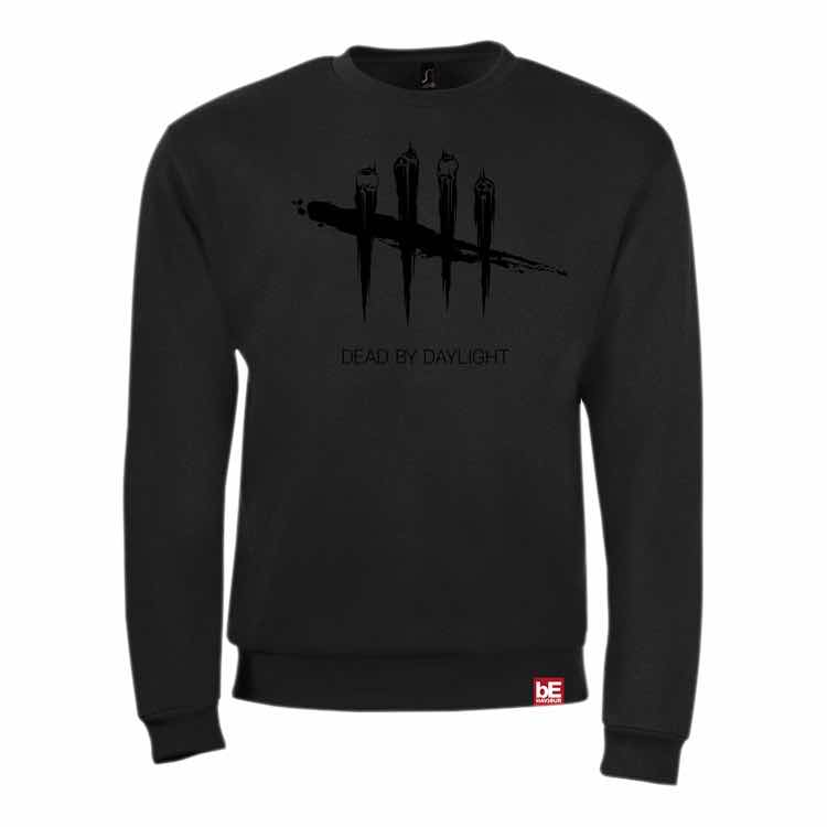LOGO BLACK ON BLACK SUDADERA NEGRA T-S DEAD BY DAYLIGHT
