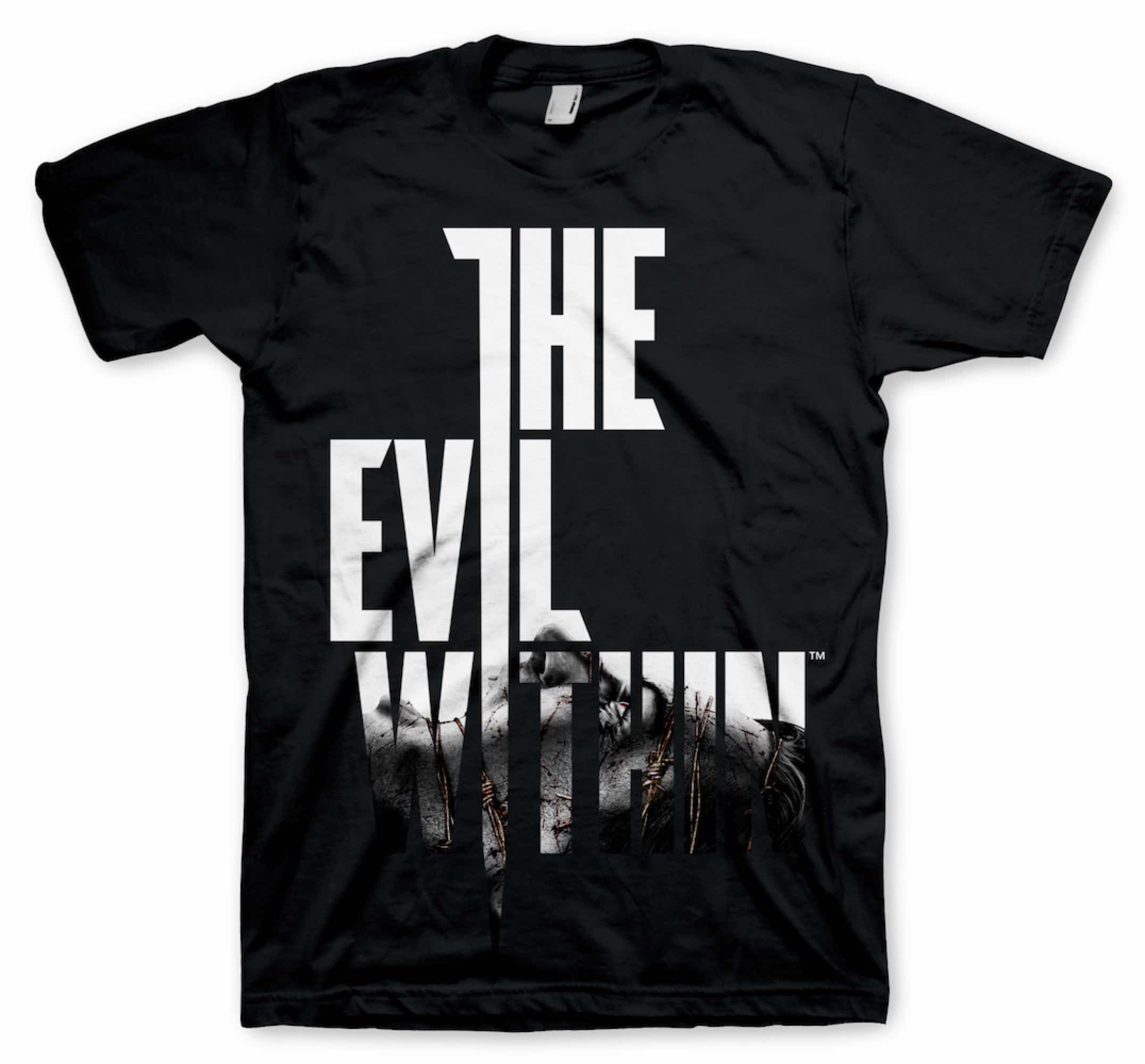 WIRED LOGO CAMISETA NEGRA CHICO TALLA M THE EVIL WITHIN
