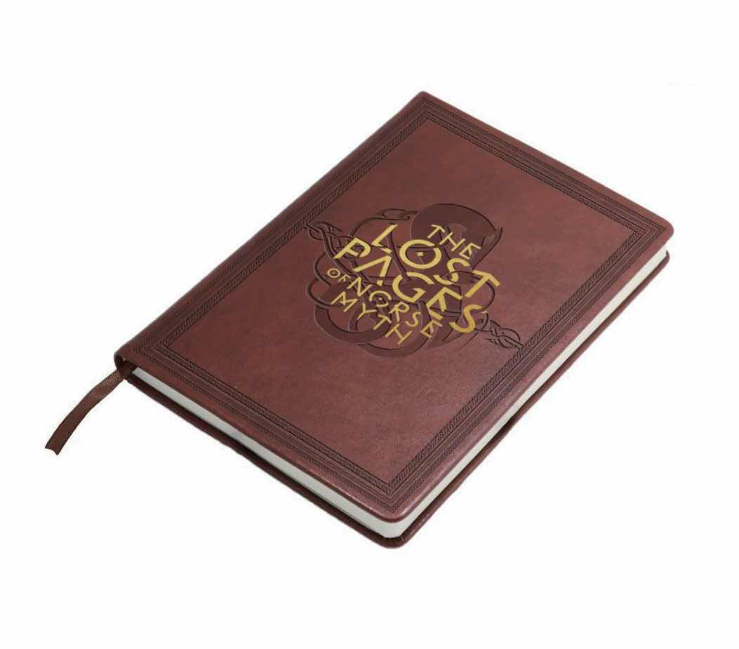 THE LOST PAGES OF NORSE MYTH LIBRETA CUERO GOD OF WAR