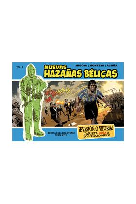 NUEVAS HAZAÑAS BELICAS 03 (SERIE AZUL): EVASION O VITORIA