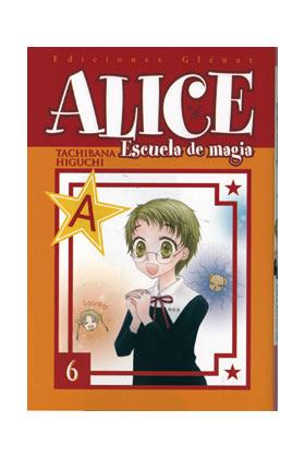 ALICE ESCUELA DE MAGIA 06 (COMIC)