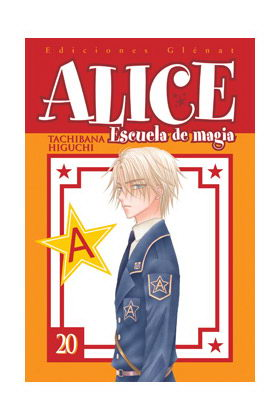ALICE ESCUELA DE MAGIA 20 (COMIC)