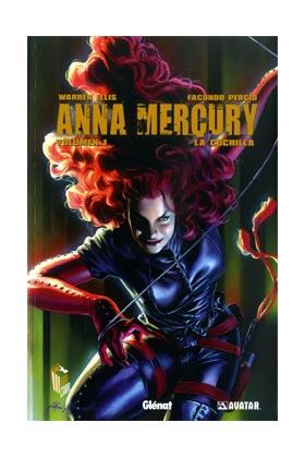 ANNA MERCURY 01. LA CUCHILLA (COMIC)