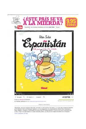 ESPAÑISTAN: ESTE PAIS SE VA A LA MIERDA (EDICION DE BOLSILLO)