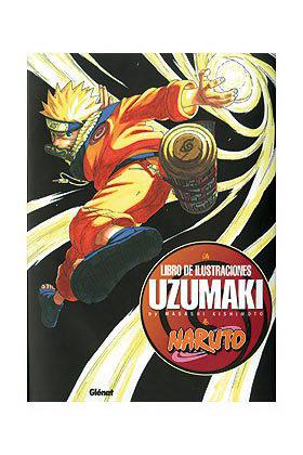 NARUTO ART BOOK. UZUMAKI