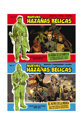 NUEVAS HAZAÑAS BELICAS PACK 01 (INCLUYE VOL.09 Y VOL 10)