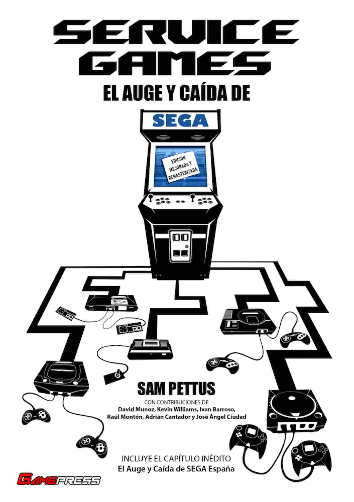 SERVICE GAMES: EL AUGE Y CAIDA DE SEGA