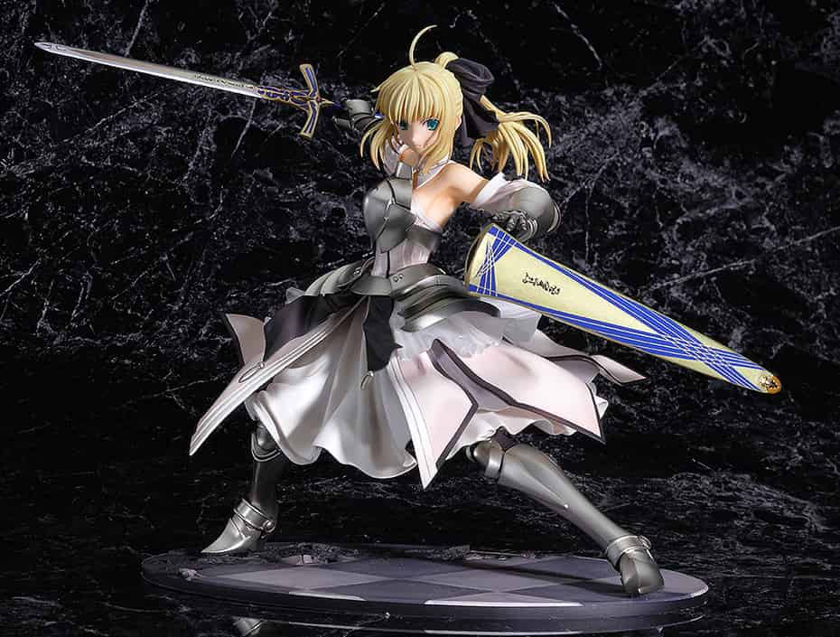 SABER LILY DISTANT AVALON FIGURA 23 CM FATE/STAY NIGHT