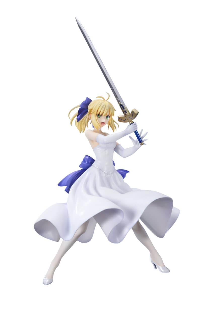 SABER WHITE DRESS VERSION FIGURA 20 CM FATE/STAY NIGHT
