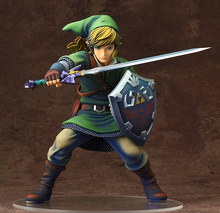 LINK FIGURA 20 CM LEGEND OF ZELDA SKYWARD SWORD