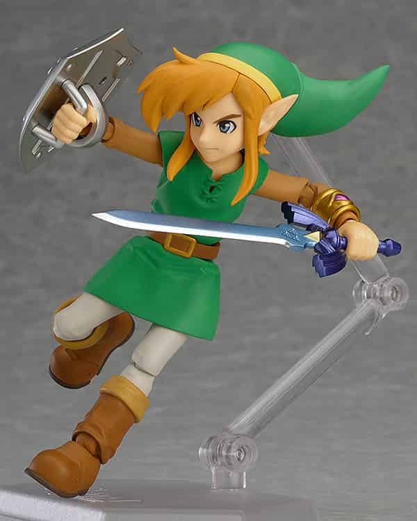 LINK BETWEEN WORLDS DX EDITION FIGURA 11 CM THE LEGEND OF ZELDA FIGMA