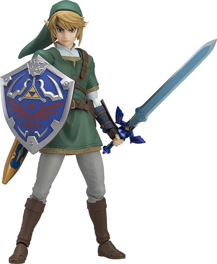 LINK REGULAR VERSION FIGURA 14 CM LEGEND OF ZELDA TWILIGHT PRINCESS VERSION