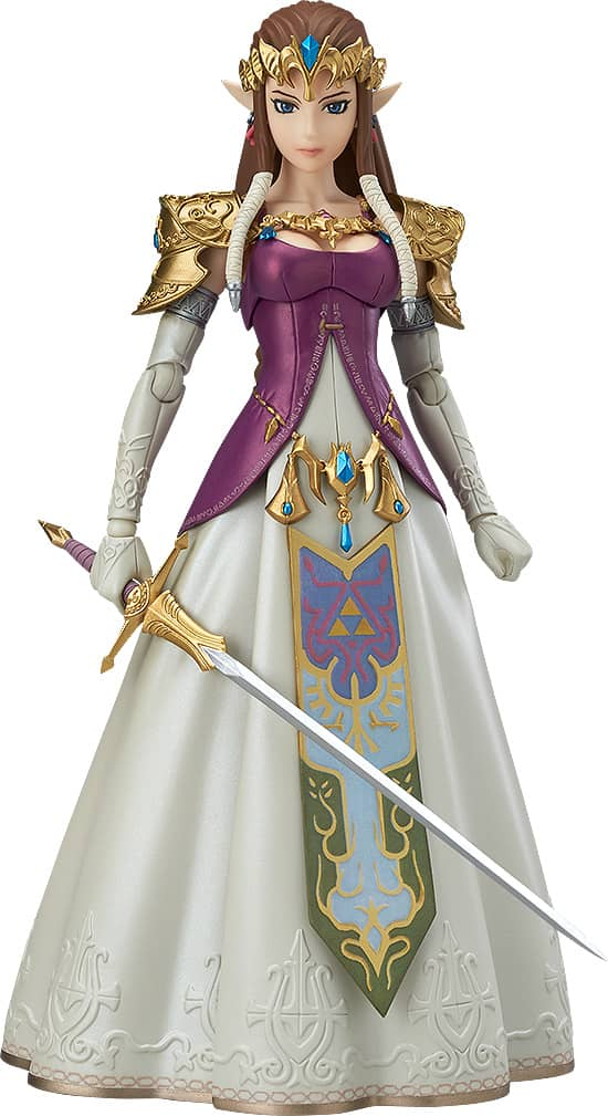 PRINCESA ZELDA FIGURA 14 CM LEGEND OF ZELDA TWILIGHT PRINCESS VERSION