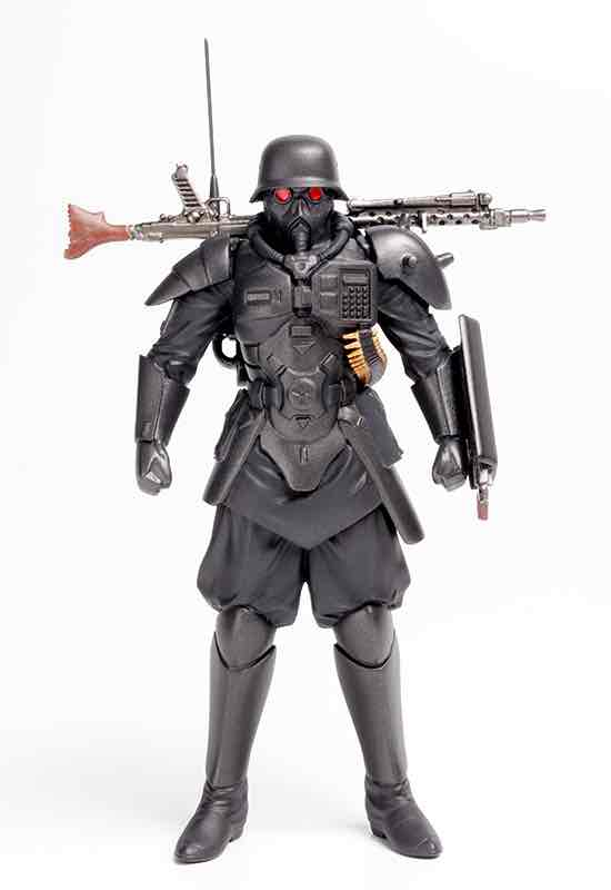 PROTECT GEAR FIGURA MODEL KIT 9 CM KERBEROS THE RED SPECTACLES PLAMAX MF-23