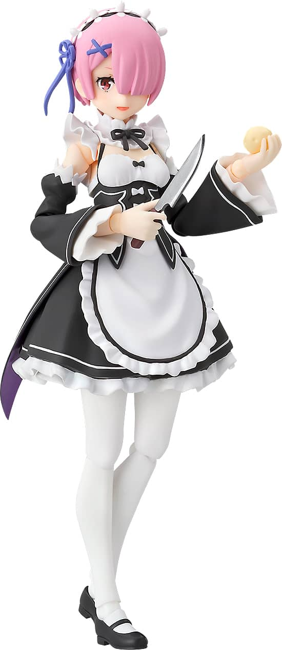 RAM FIGURA 13 CM RE: ZERO STARTING LIFE IN ANOTHER WORLD FIGMA