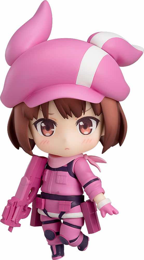 LLENN FIGURA 10 CM SWORD ART ONLINE ALTERNATIVE GUN GALE ONLINE NENDOROID