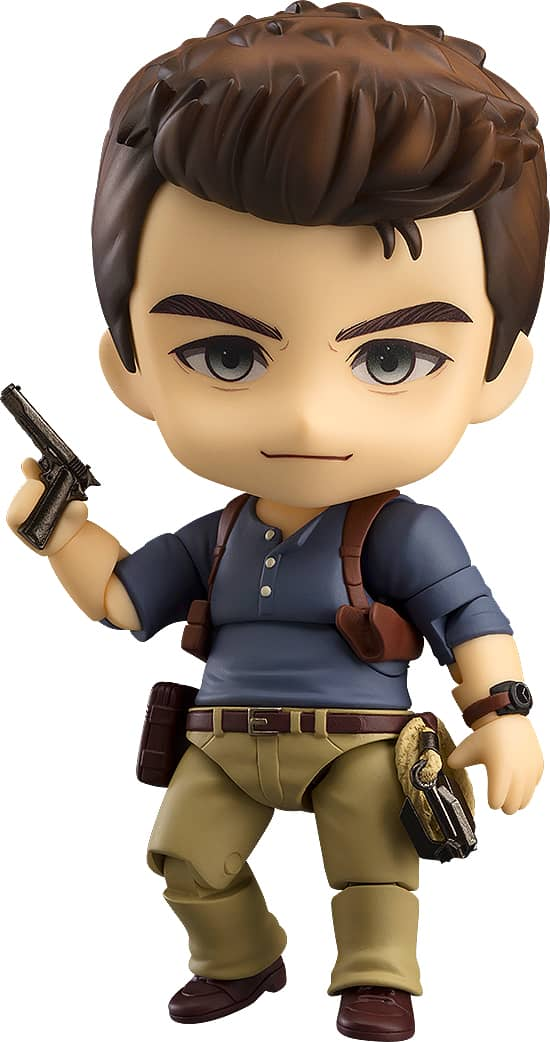 NATHAN DRAKE ADVENTURE EDITION FIGURA 10 CM UNCHARTED 4: A THIEF'S END NENDOROID