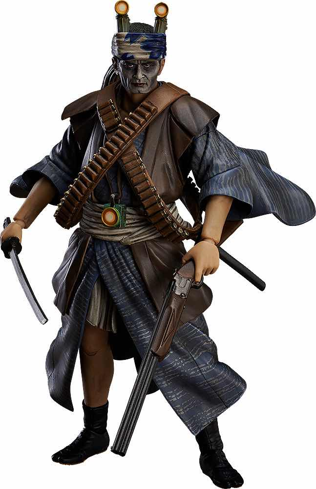 YOZO TAJIMI FIGURA 16  CM VILLAGE OF EIGHT GRAVESTONES FIGMA