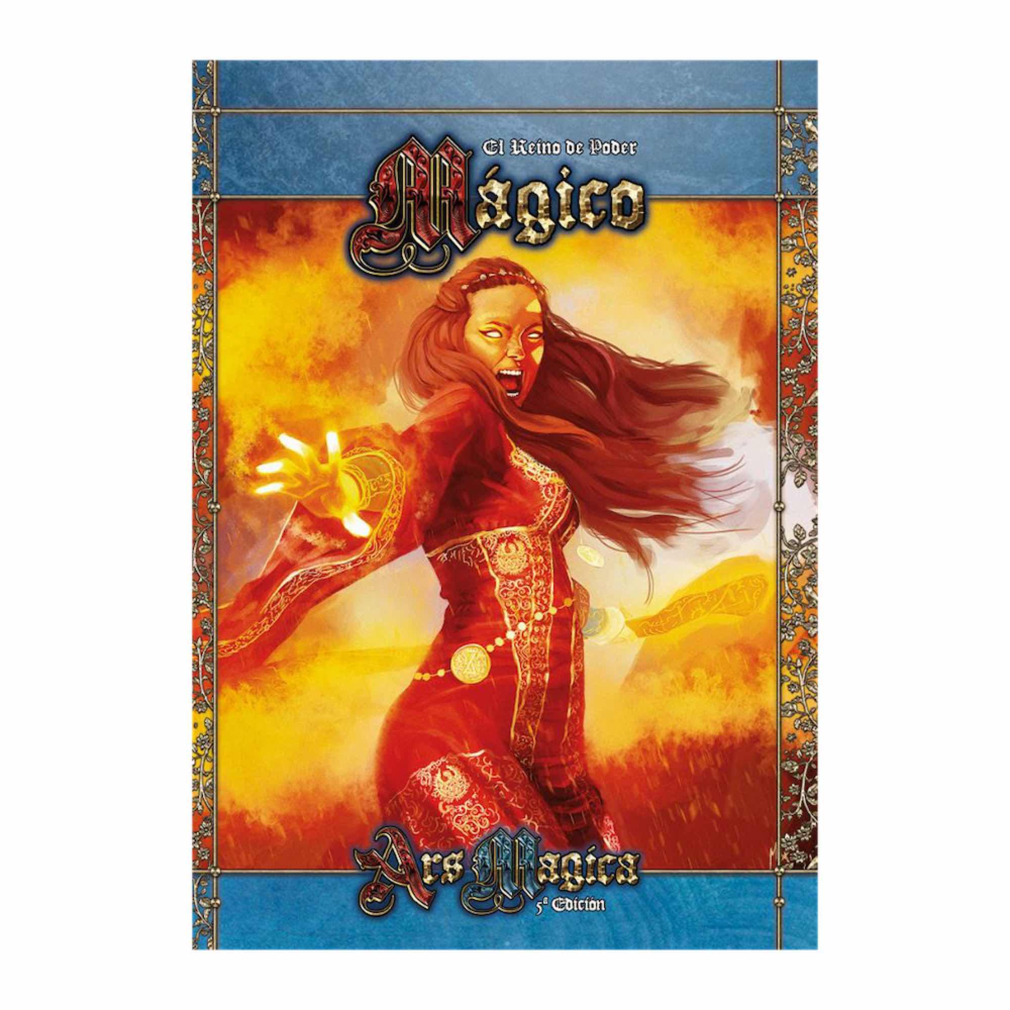 ARS MAGICA 5ª EDICION: EL REINO DEL PODER MAGICO