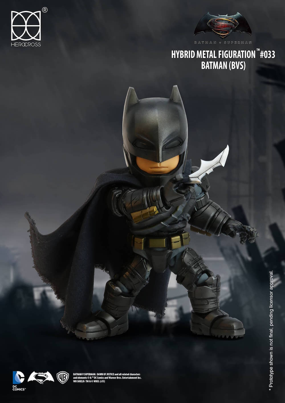 BATMAN FIGURA 14 CM BATMAN VS SUPERMAN DC COMICS
