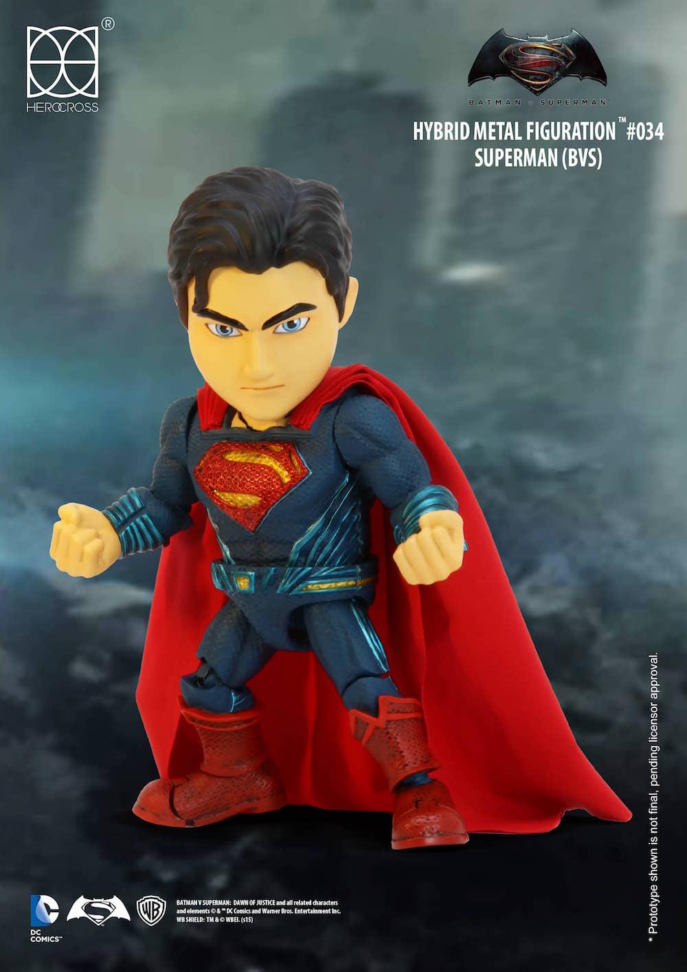 SUPERMAN FIGURA 14 CM BATMAN VS SUPERMAN DC COMICS