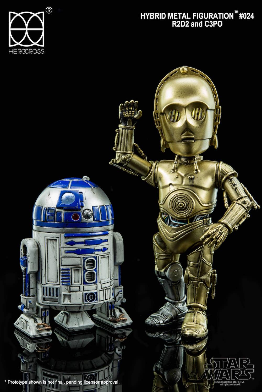 R2-D2 Y C-3PO FIGURA 14 CM STAR WARS