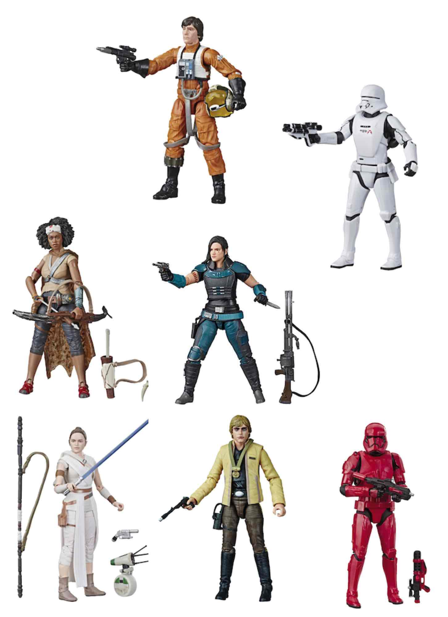 STAR WARS BLACK SERIES SURTIDO 8 FIGURAS 15 CM STAR WARS E4071EU41 S2