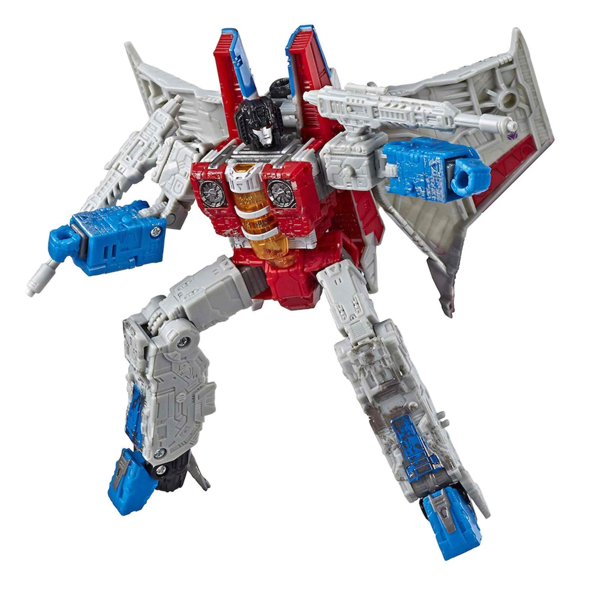 STARSCREAM FIGURA 18 CM TRANSFORMERS GENERATIONS WFC VOYAGER SIEGE CHAPTER