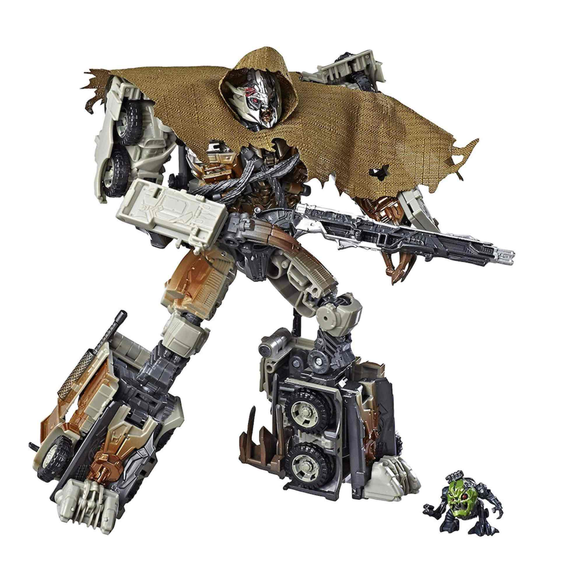 MEGATRON FIGURA 18 CM TRANSFORMERS DARK SIDE OF THE MOON STUDIO SERIES LEADER