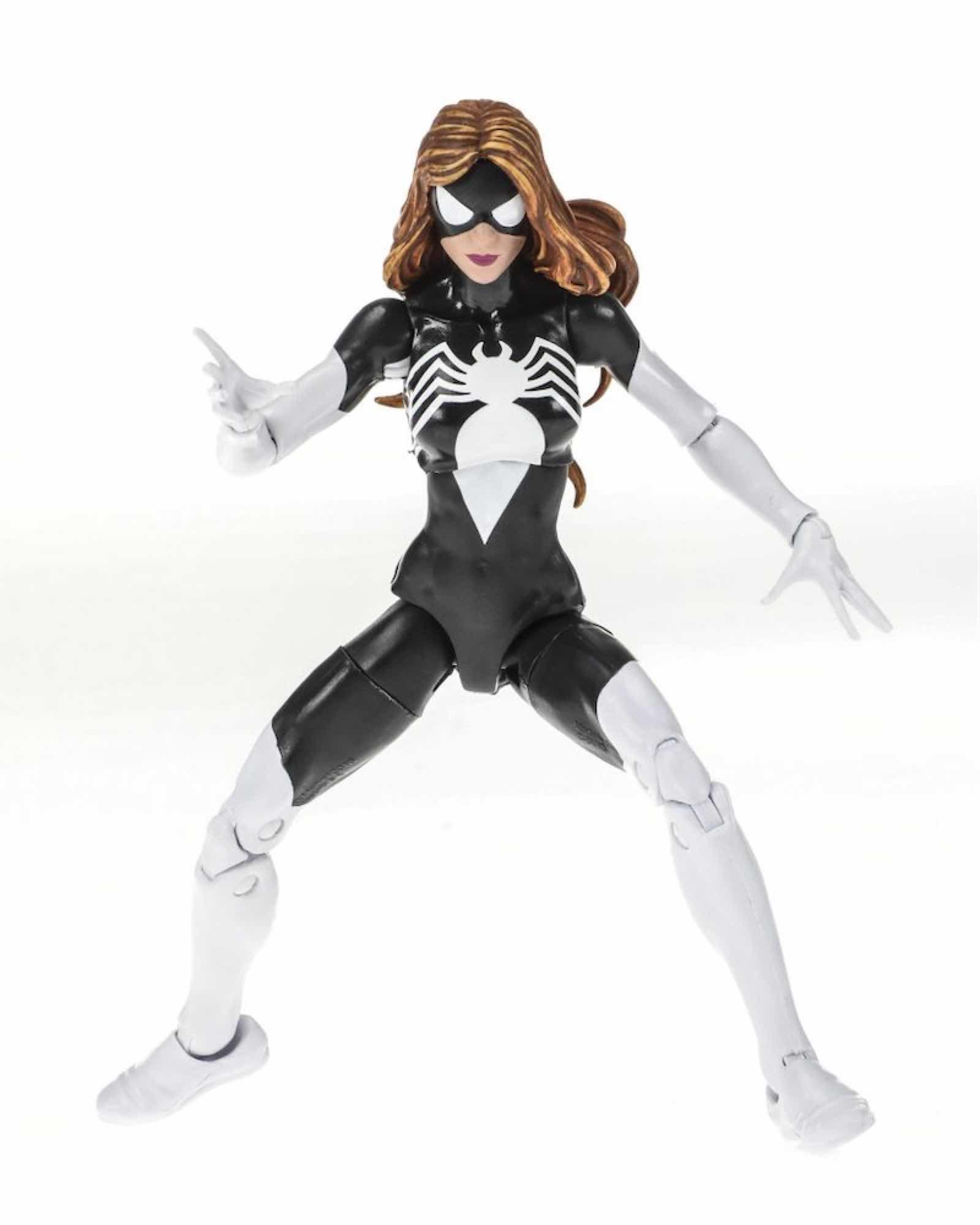 SPIDER-WOMAN BLACK SUIT FIGURA 15 CM MARVEL LEGENDS