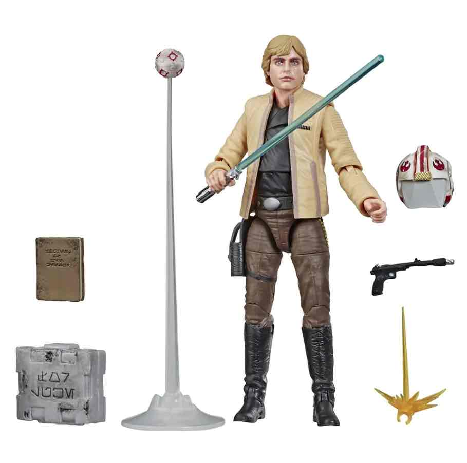 LUKE SKYWALKER CEREMONY FIGURA 19 CM STAR WARS BLACK SERIES EXCLUSIVE GLOVAL CONVENTION