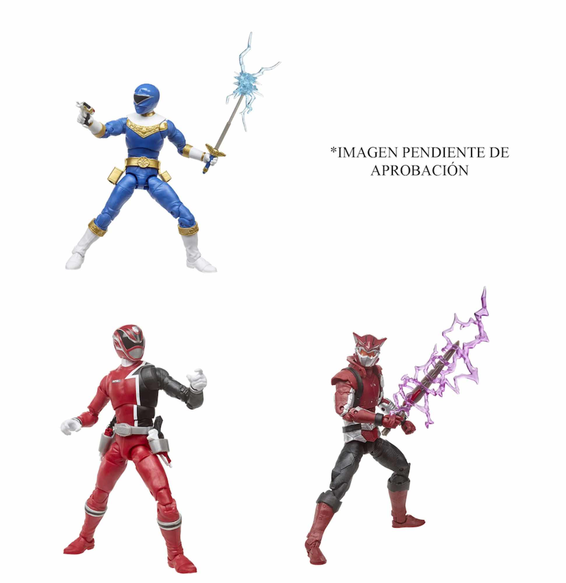 SURTIDO 8 FIGURAS 15 CM POWER RANGERS LIGHTNING COLLECTION E5906EU44