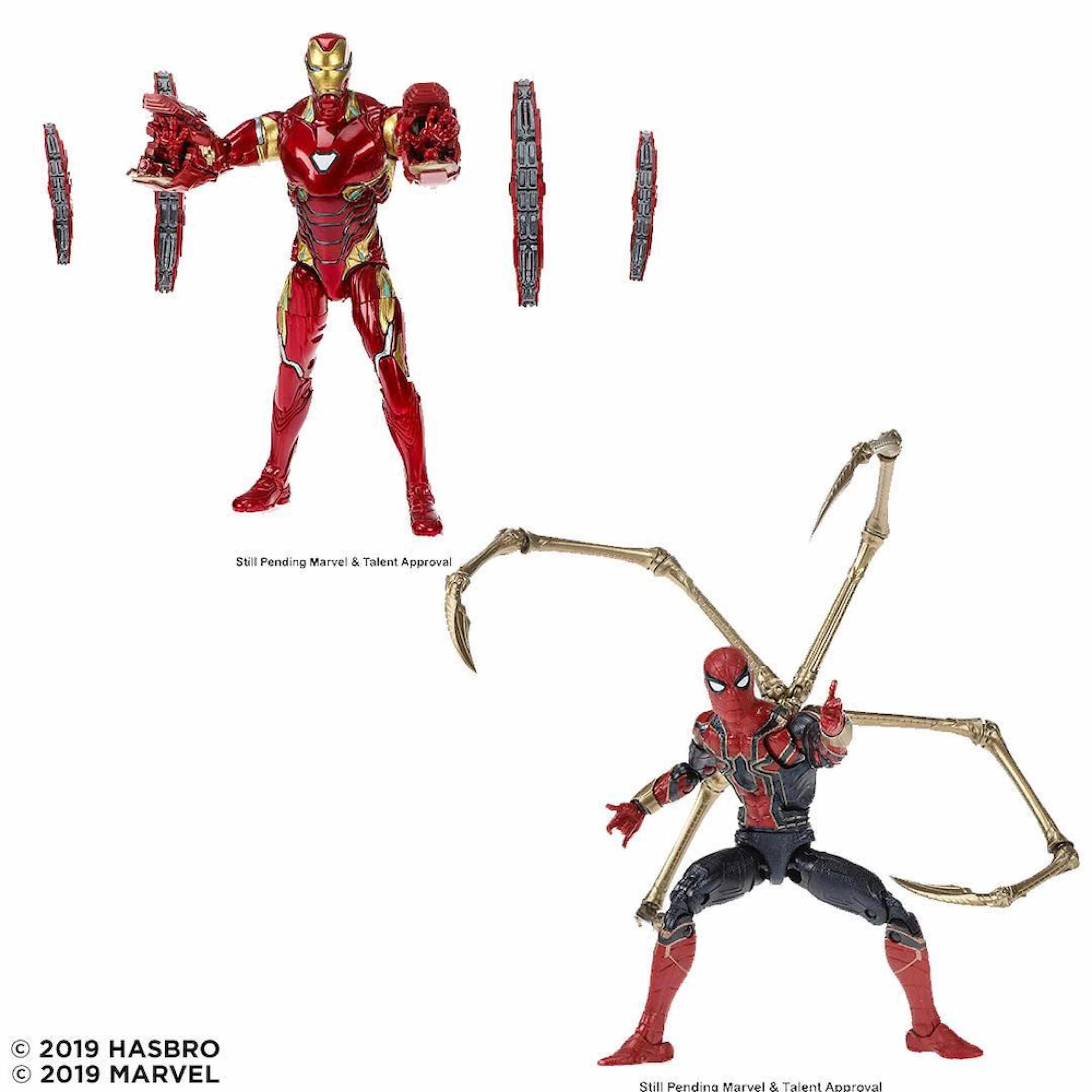 SET IRON SPIDER + IRON MAN FIGURA 15 CM MARVEL LEGENDS 80TH ANNIVERSARY E6341E48