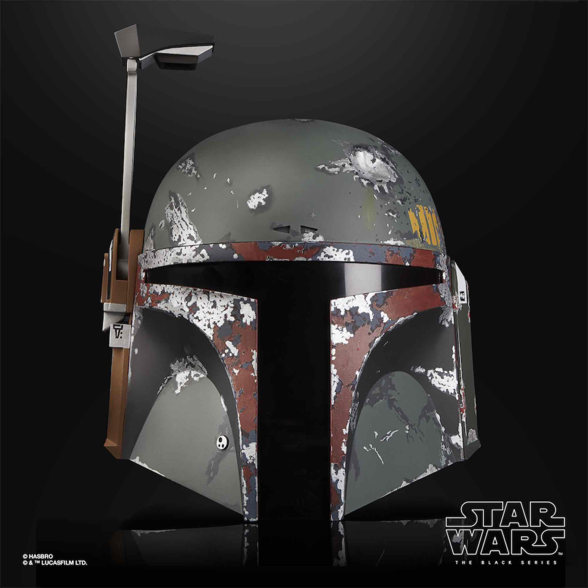 BOBA FETT CASCO ELECTRONICO REPLICA ESCALA 1:1 BLACK SERIES STAR WARS E75435L0